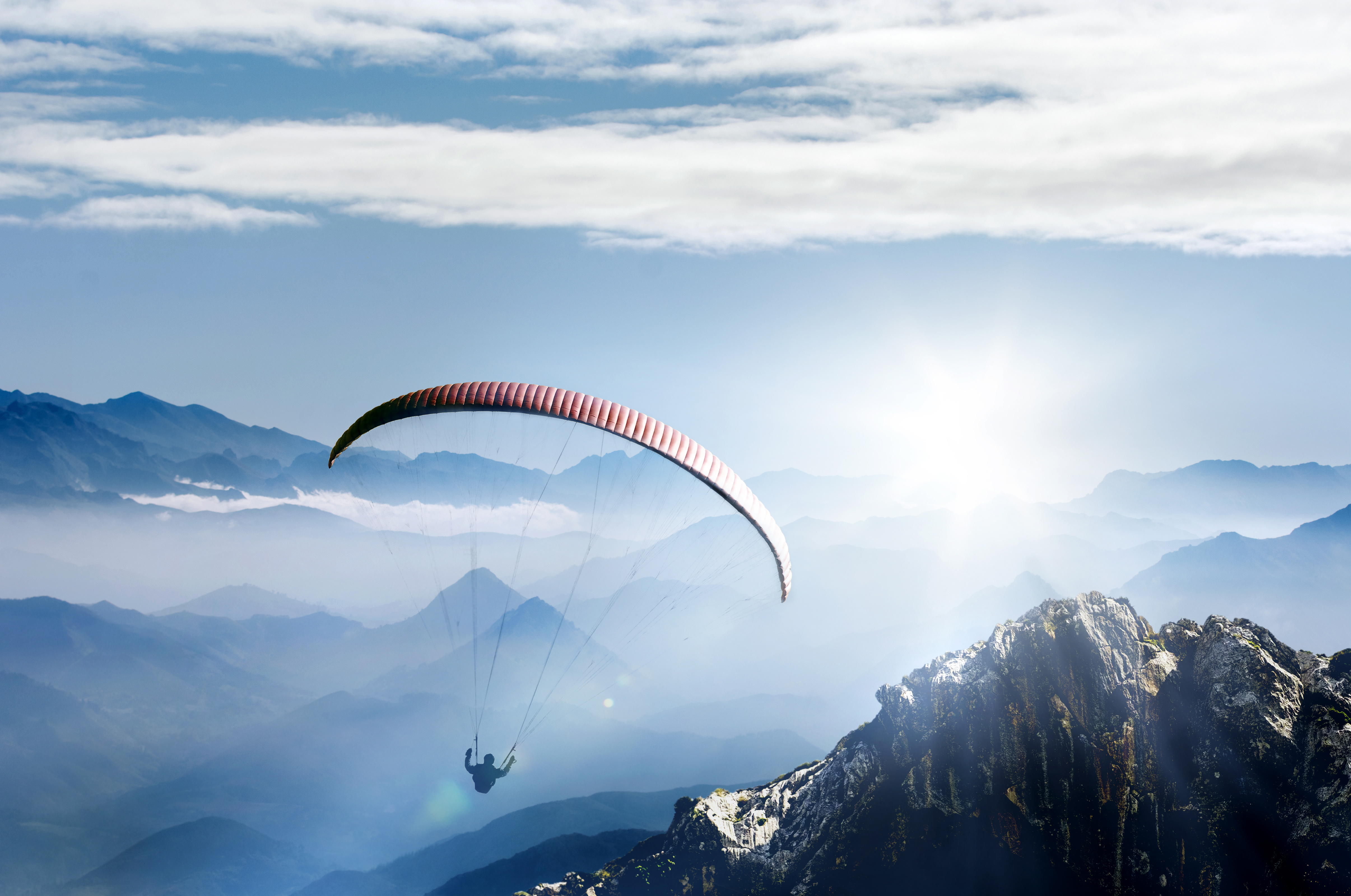 Paragliding in Bad Gastein